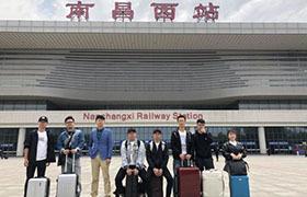 从武汉到南昌 在街上服务商家从未止步