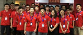 中国新加坡两国PK赛,银联在街上战狼团,服务国内外实体店铺