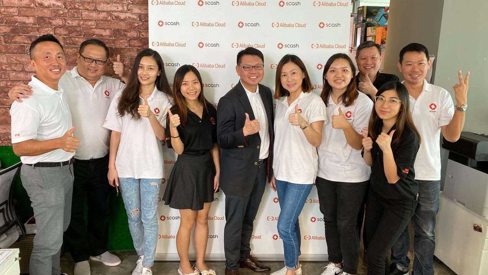 在街上SCash&Alibaba Cloud 合作宣传片拍摄